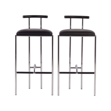 Tokyo Stool by Rodney Kinsman for Bieffeplast ca. 1985 – set of two | Mid Century Design