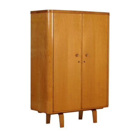 Wardrobe by W. Lutjens for Den Boer Gouda Holland, 50s | Mid Century Design