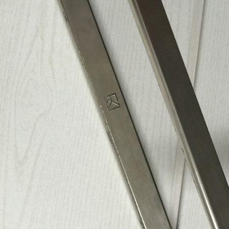 PK 91 Folding Stool by Poul Kjaerholm for E. Kold Christensen A/S, Denmark, 1961