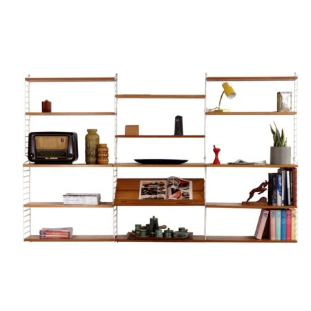 Pine Wall Unit By Nisse Strinning for String Design AB, '60s | Mid Century Design