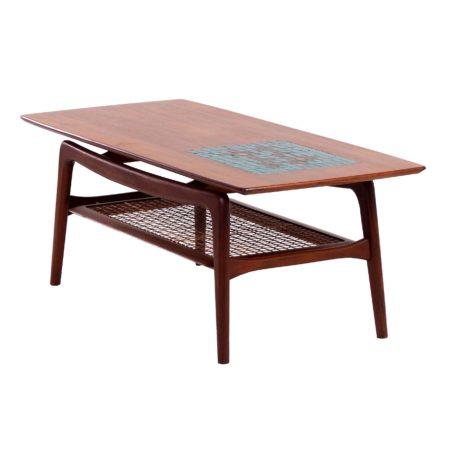 Teak Coffee Table by Louis van Teeffelen for Wébé, 1960s | Mid Century Design
