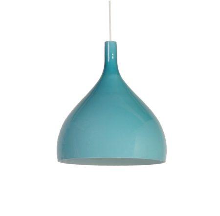 Blue Green Murano Pendant by Paolo Venini for Venini & C, 1960s Italy