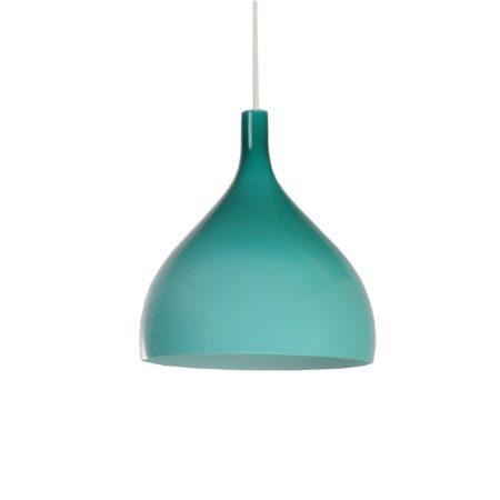 Green Murano Pendant by Paolo Venini for Venini & C, 1960s Italy | Mid Century Design