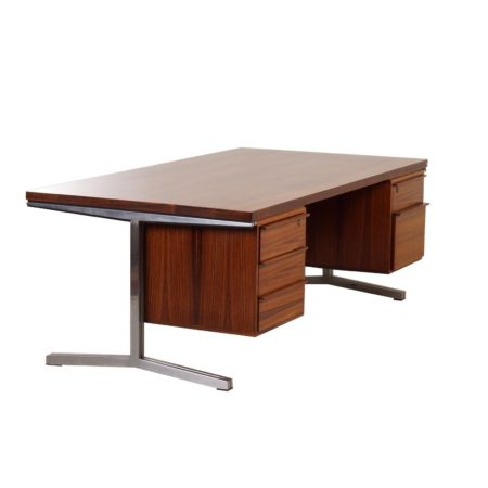 Rosewood Executive Desk by Theo Tempelman for AP Originals, 60s | Mid Century Design
