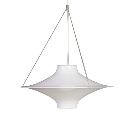 Skyflyer Hanging Light 'Lokki' by Yki Nummi for Stockmann-Orno, Finland 1960 | Mid Century Design