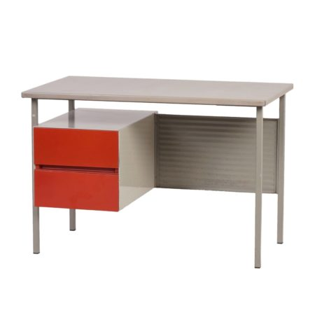 Gispen Desk (model: 3803) by A. Cordemeijer in 1959 | Mid Century Design