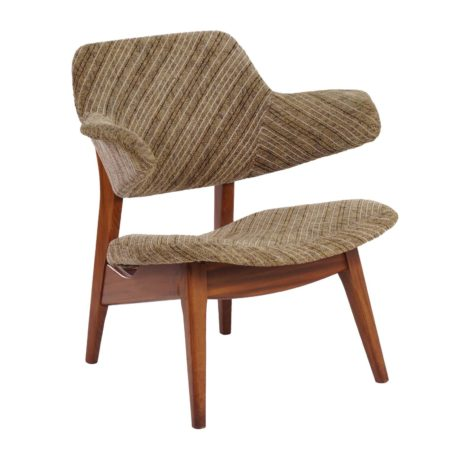 Louis van Teeffelen Easy Chair for Webe about 1960s | Mid Century Design