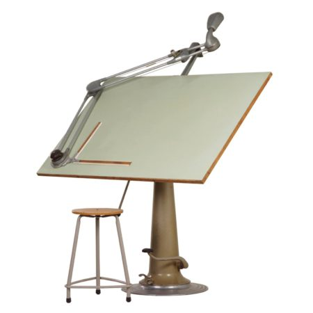 Industrial Nike Drafting Table ca. 1950 | Mid Century Design