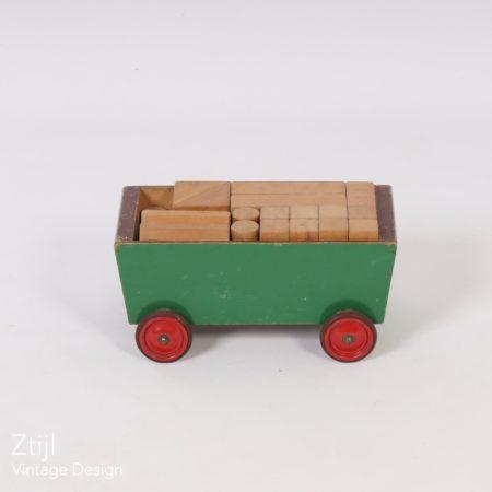 ADO Kids Block Cart by Ko Verzuu in the 30s.