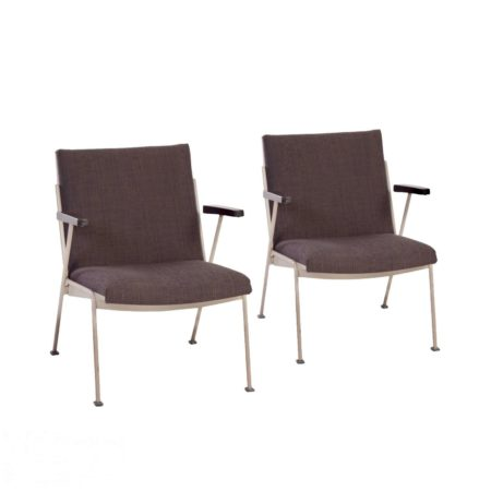 Oase Arm Chairs by Wim Rietveld for Ahrend de Cirkel, 1958 | set of 2 | Mid Century Design