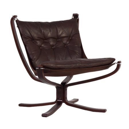 Scandinavian Falcon Chair by Sigurd Ressell for Vatne Mobler | Mid Century Design