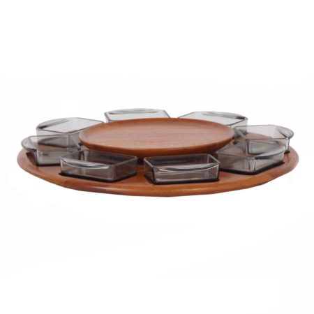 Lazy Susan Serving Tray by Digsmed,  Denmark 1960s | Mid Century Design