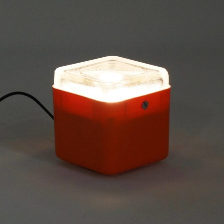 Italian Cube Table Lamp by Lamperti Robbiate, Italy – 1970s