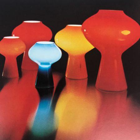 Fungo Lamp by Massimo Vignelli for Venini Murano, 1956