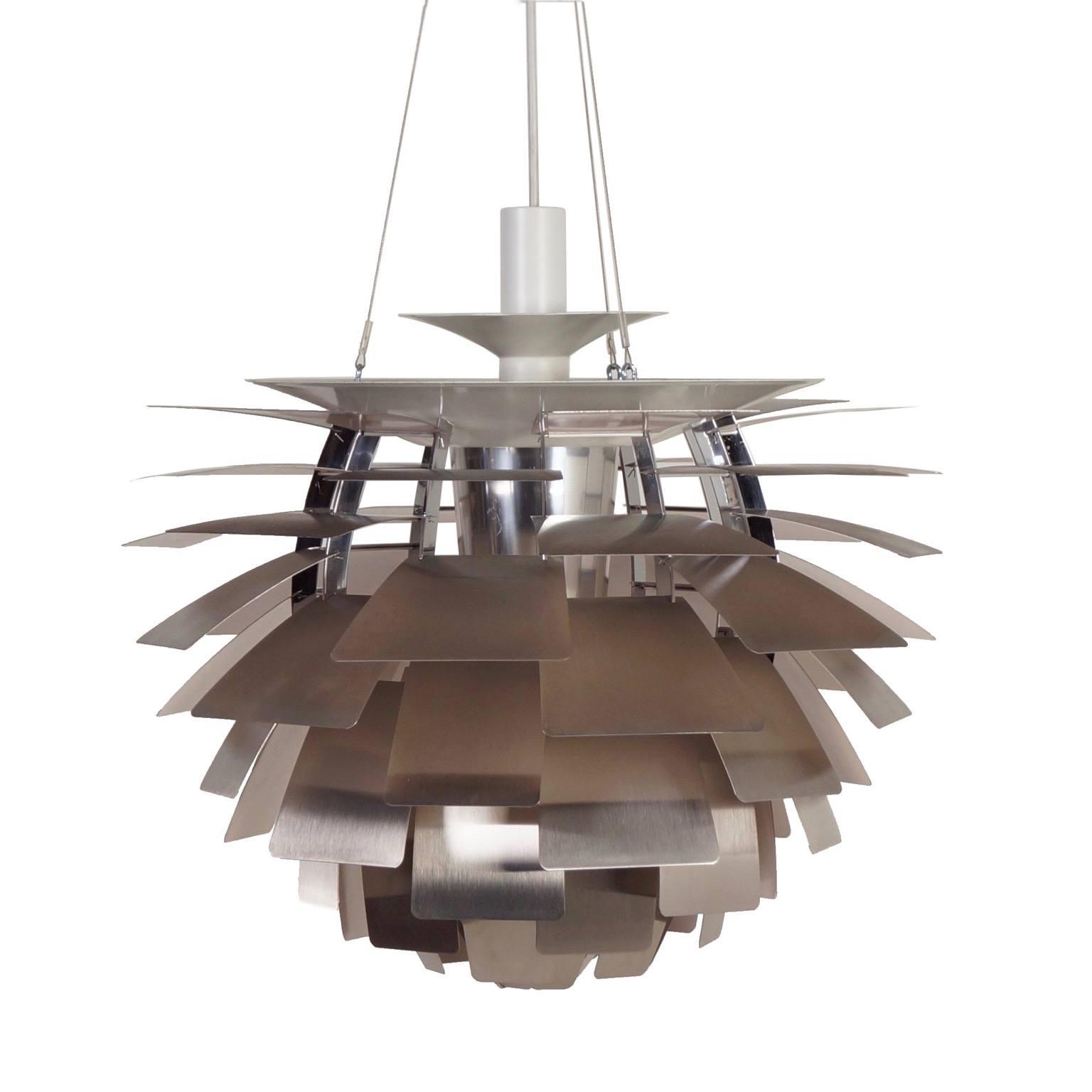 vintage artichoke lamp by poul henningsen for louis. Black Bedroom Furniture Sets. Home Design Ideas