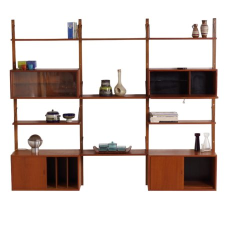 Royal Wall Unit by Poul Cadovius for Cado, 1960s | Mid Century Design