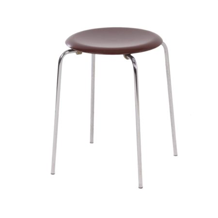 Danish Dot Stool 3170 by Arne Jacobsen for Fritz Hansen, 1981 | Mid Century Design