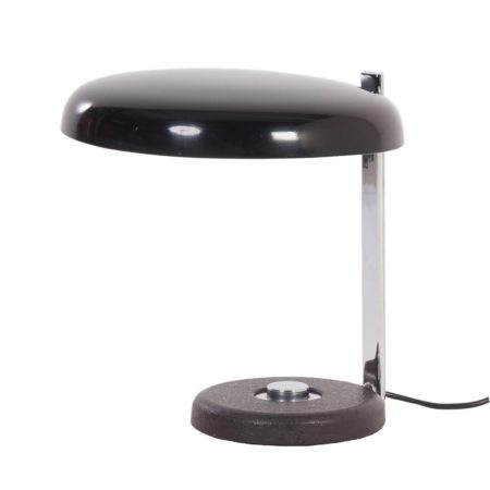 Oslo Desk Lamp Heinz PFAENDER from Hillebrand, 1960s – black | Mid Century Design