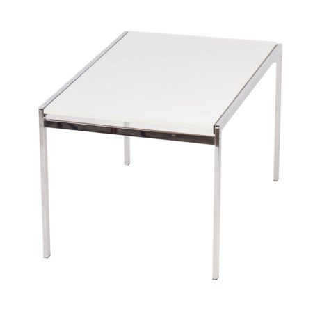 TU30 Dining Table Cees BRAAKMAN from Pastoe, 1960s – extendable, white | Mid Century Design