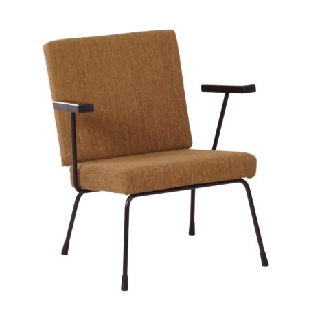 Vintage 1401 Armchair by Wim Rietveld for Gispen, 1954 | Mid Century Design