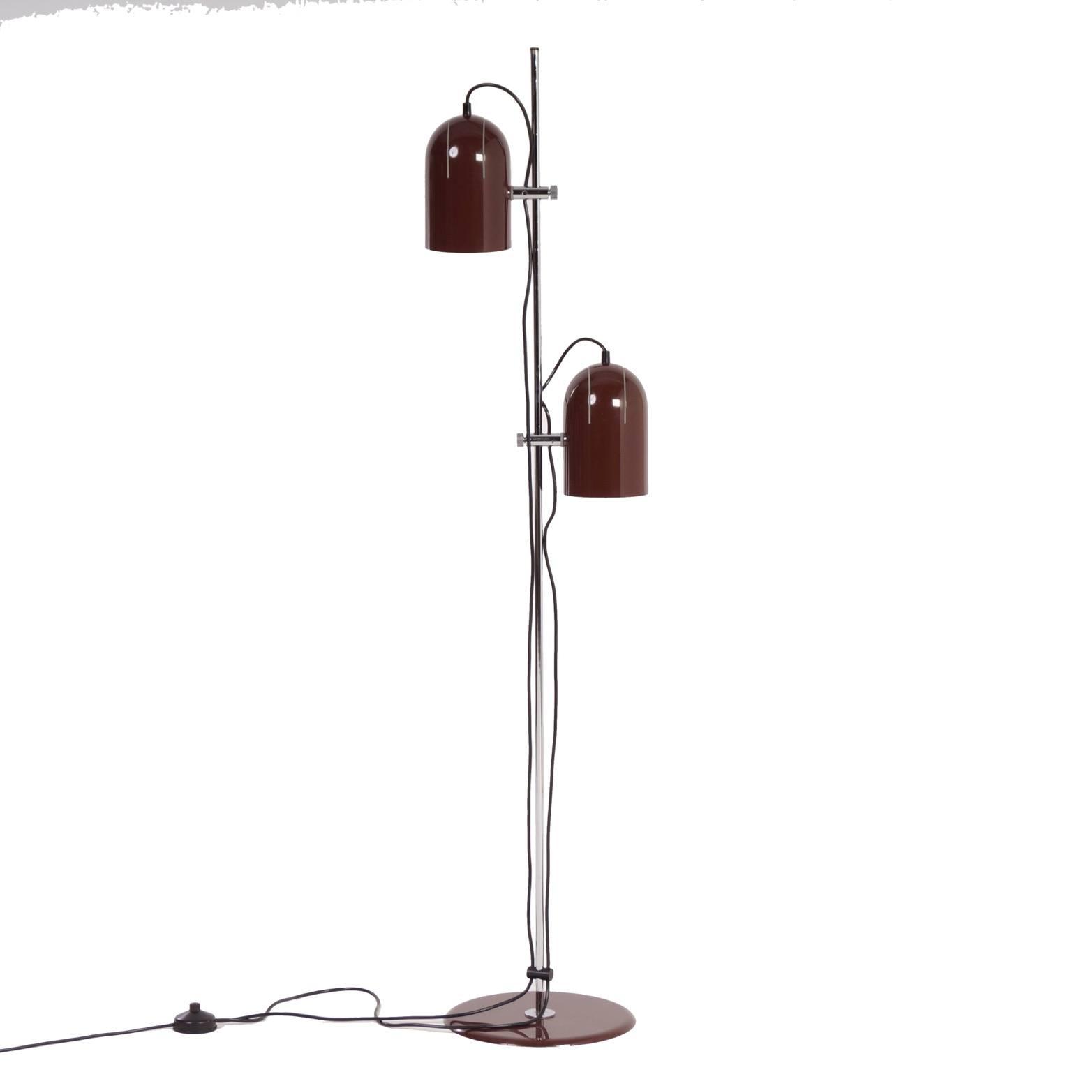Vintage herda floor lamp 1970s vintage furniture and lamps for 1970s floor lamps