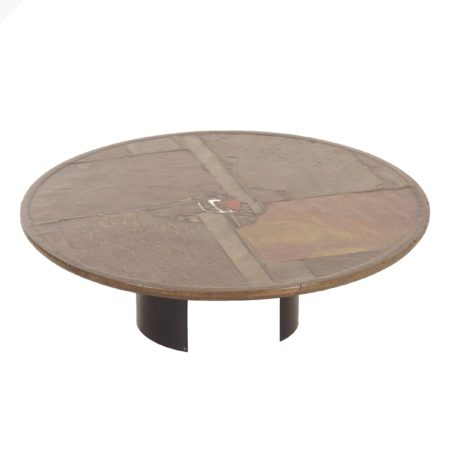 Paul Kingma Coffee Table, 1992 – Round, Diameter 120 cm | Mid Century Design