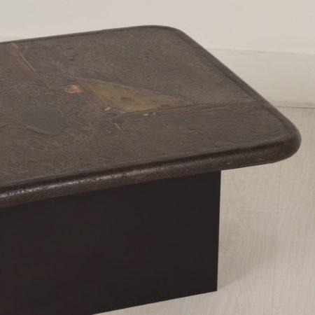 Paul Kingma Coffee Table, 1989 – square 80 cm