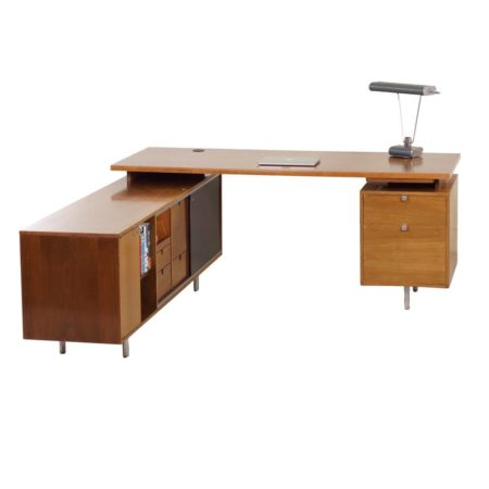 Executive Desk by George Nelson for Herman Miller, 1960s | Mid Century Design