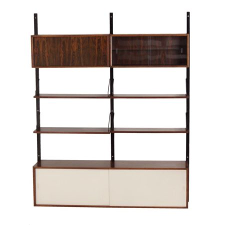 Royal Wall Unit in Rosewood by Poul Cadovius for Cado, 1960s | Mid Century Design