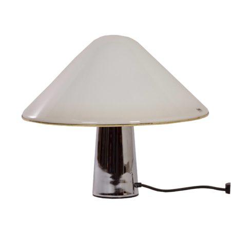 White Mushroom Lamp by Guzzini, 1970s | Mid Century Design