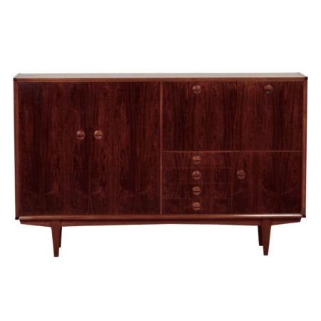 Rosewood PSR-130 Highboard by Marten Franckena for Fristho, 1962 | Mid Century Design
