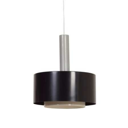 Black Hanging Lamp by Hiemstra Evolux, 1960s | Mid Century Design