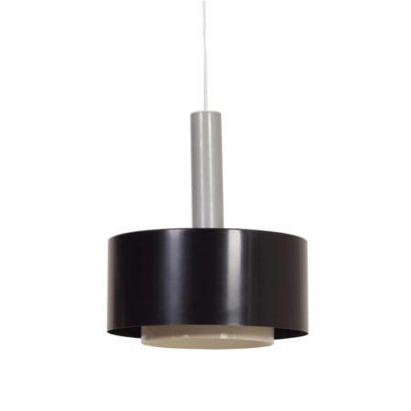 Black Hanging Lamp by Hiemstra Evolux, 1960s | Mid Century Design