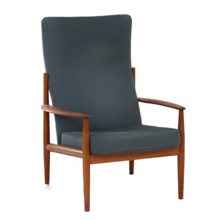 Danish Armchair by Grete Jalk for France & Son, 1960s | Mid Century Design