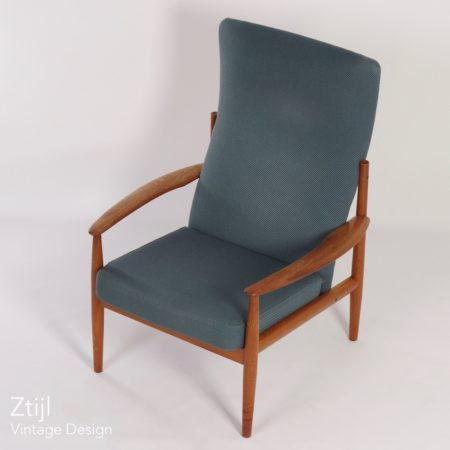 Danish Armchair by Grete Jalk for France & Son, 1960s