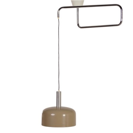 Hala Hanging Lamp with Swivel Arm, 1970s | Mid Century Design