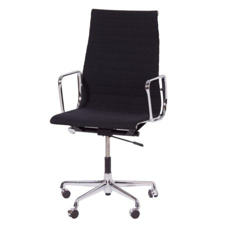 EA 119 Office Chair by Charles and Ray Eames by Vitra, 1980s – Black | Mid Century Design