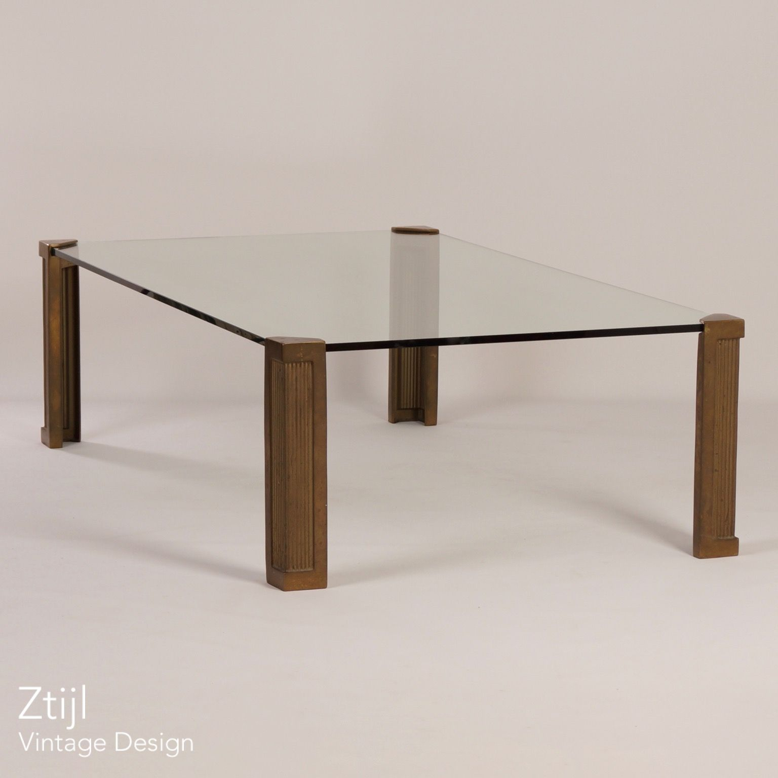 Ghyczy Salon Tafel.Coffee Table T14d By Peter Ghyczy For Studio Ghyczy 1970s