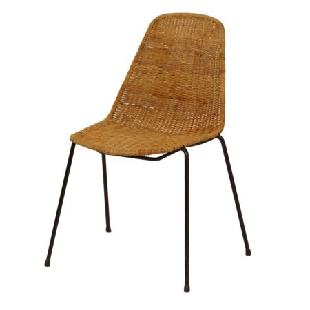 Basket Chair by Gian Franco Legler, 1950s | Mid Century Design