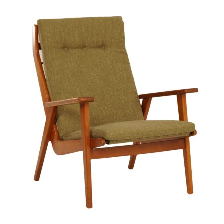 1611 Armchair by Rob Parry  for Gelderland, 1950s | Re-upholstered | Mid Century Design