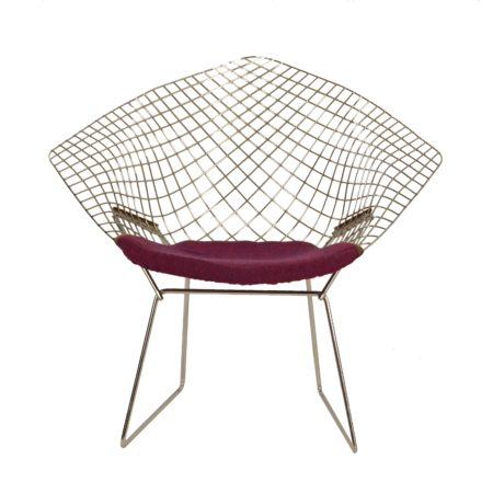 Diamond Chair by Harry Bertoia for Knoll, 1950s | Mid Century Design