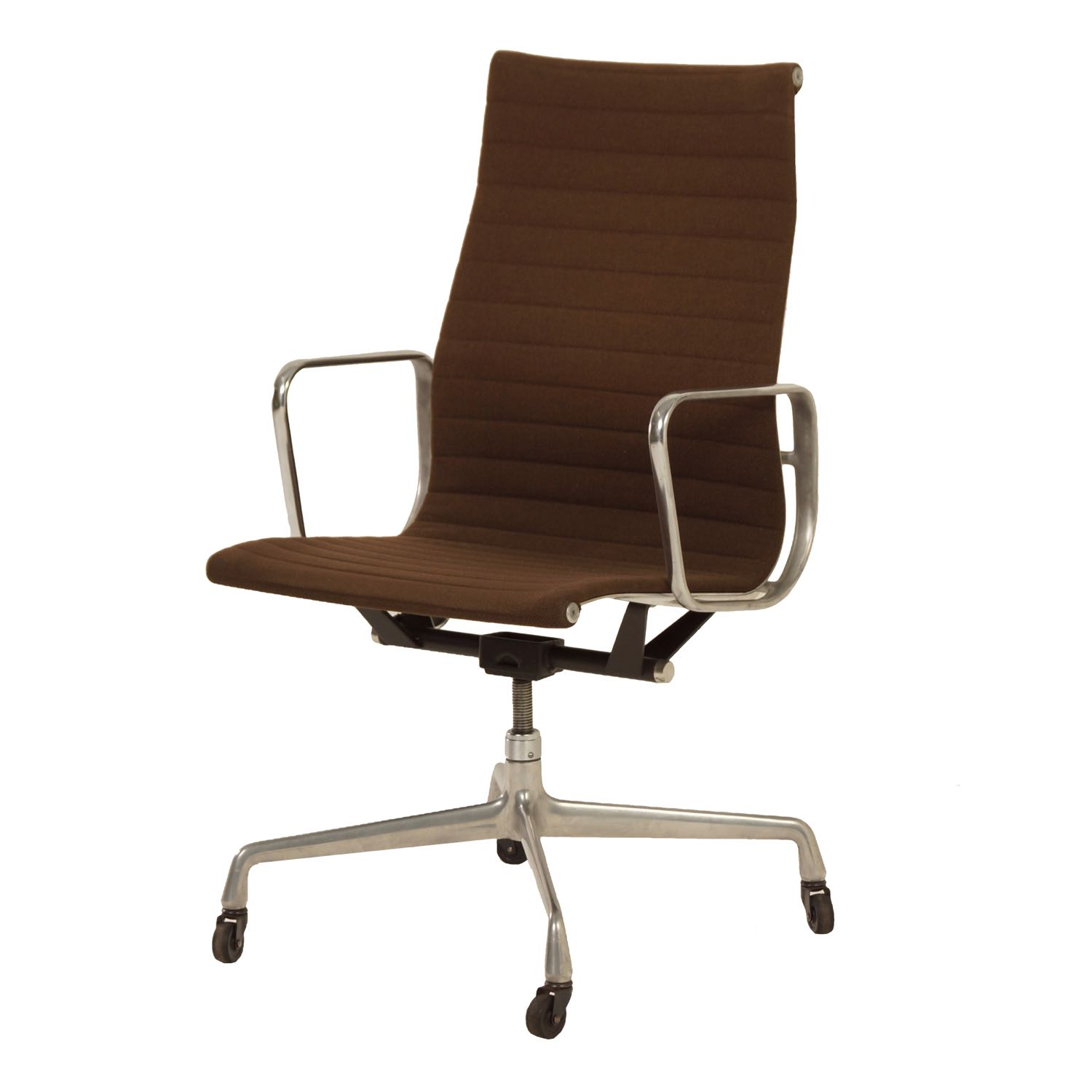 Original Brown Eames Office Chair by Charles and Ray Eames for Herman Miller, 1960s | Mid Century Design