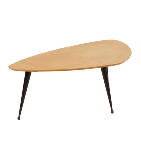 Kidney-Shaped Birch Coffee Table TB39 by Cees Braakman for Pastoe, 1950s | Mid Century Design