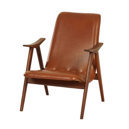 Teak Easy Chair by Louis van Teeffelen for Wébé, ca. 1960 | Mid Century Design