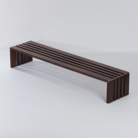 Slat Bench in Ash Woord by Walter Antonis for 't Spectrum, 1960s