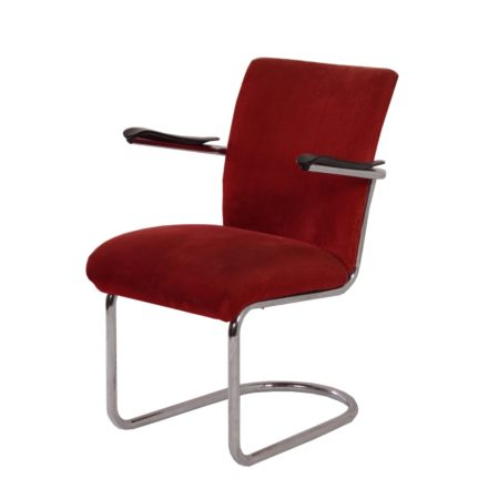 De Wit Easy Chair model 1018 by Toon de Wit, 1950s | Mid Century Design