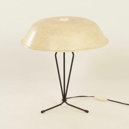 Fiberglas Table Lamp by Louis Kalff for Philips, 1958.