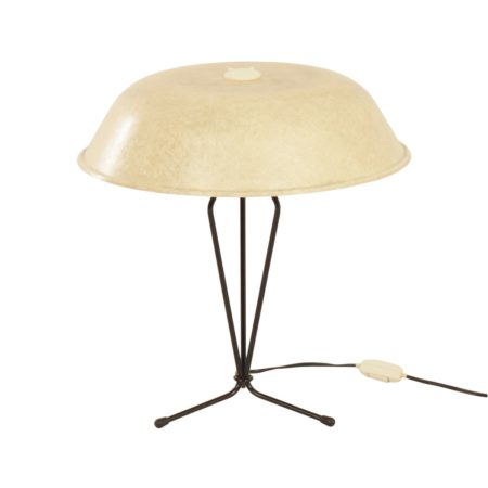 Fiberglas Table Lamp by Louis Kalff for Philips, 1958. | Mid Century Design