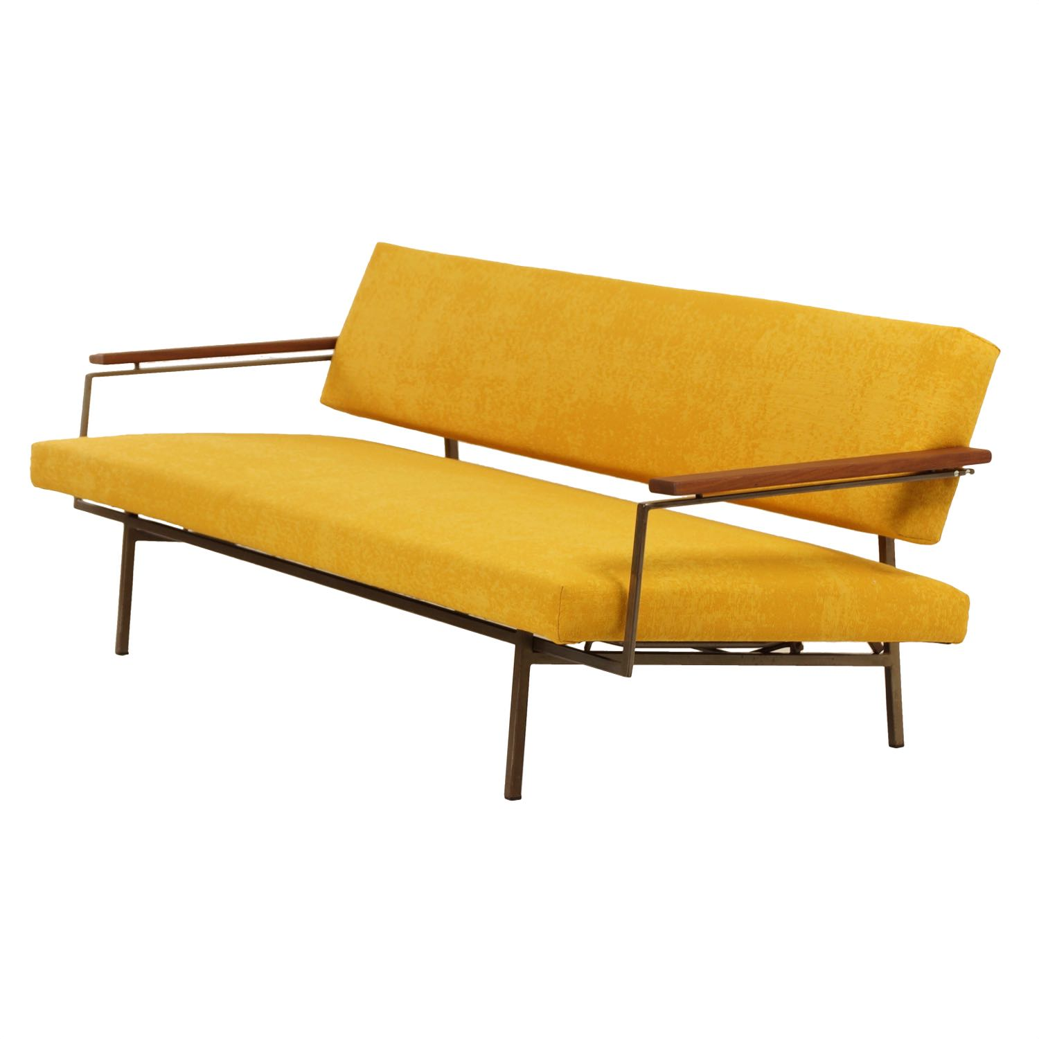 Awesome Lotus Sleeping Sofa By Rob Parry For Gelderland In Ca 1960 Andrewgaddart Wooden Chair Designs For Living Room Andrewgaddartcom