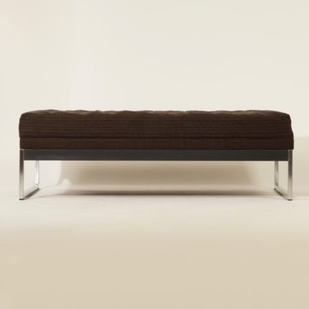 To Be Re-upholstered Bench From AP originals, 1960s.